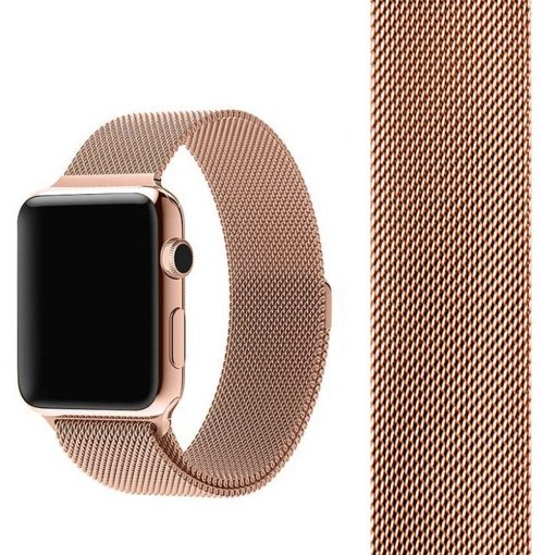 Apple Watch Bands - Milanese Loop Strap Retro Gold Series 1 2 3 4 5 38mm 40mm 42mm 44mm