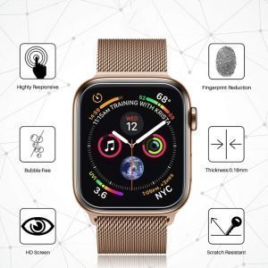 Apple Watch Screen Protectors - Clear Film Screen Protector Series 1 2 3 4 5 38mm 40mm 42mm 44mm
