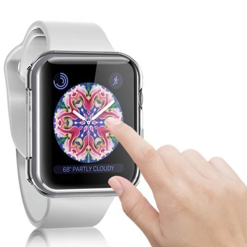 Apple Watch Screen Protectors - Responsive Clear Protector Case Series 1 2 3 4 5 38mm 40mm 42mm 44mm