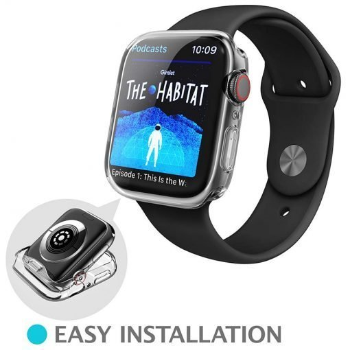 Apple Watch Screen Protectors - Clear Protector Case Easy Installation Series 1 2 3 4 5 38mm 40mm 42mm 44mm