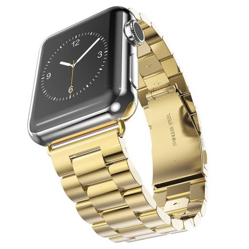 Apple Watch Bands - Stainless Steel Band Gold Series 1 2 3 4 5 38mm 40mm 42mm 44mm