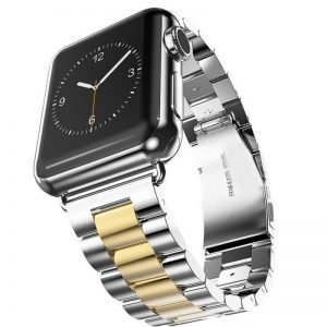 Apple Watch Bands - Stainless Steel Band Mix Gold Series 1 2 3 4 5 38mm 40mm 42mm 44mm