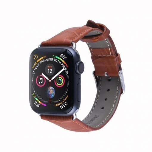 Apple Watch Bands - Genuine Leather Band Brown Series 1 2 3 4 5 38mm 40mm 42mm 44mm