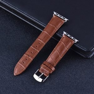 Apple Watch Bands - Genuine Leather Band Straps Brown Series 1 2 3 4 5 38mm 40mm 42mm 44mm