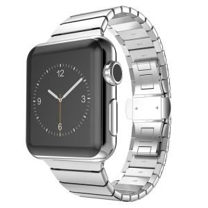 Apple Watch Bands - Luxury Stainless Steel Band Silver suitable for Series 1 2 3 4 5 38mm 40mm 42mm 44mm