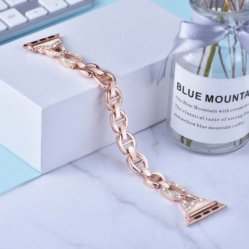 Apple Watch Bands - Dress Bracelet Retro Gold Series 1 2 3 4 5 38mm 40mm 42mm 44mm