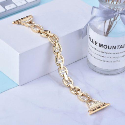 Apple Watch Bands - Dress Bracelet Gold Series 1 2 3 4 5 38mm 40mm 42mm 44mm