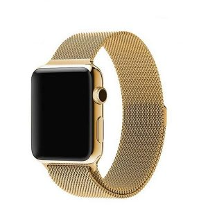 Apple Watch Bands - Milanese Loop Band Strap Gold Series 1 2 3 4 5 38mm 40mm 42mm 44mm