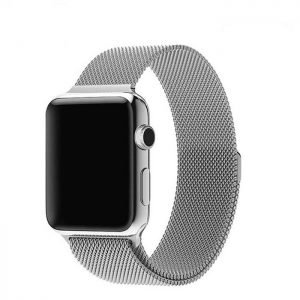 Apple Watch Bands - Milanese Loop Band Strap Silver Series 1 2 3 4 5 38mm 40mm 42mm 44mm