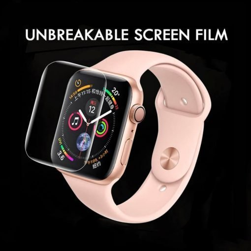 Apple Watch Screen Protector - Clear Screen Film for Apple Watch 38mm 40mm 42mm 44mm