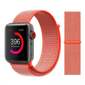 Apple Watch Bands - Sport Loop Colour 04 Spicy Orange 38mm 40mm 42mm 44mm