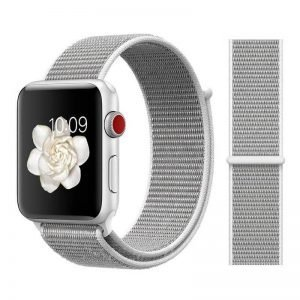 Apple Watch Bands - Sport Loop Colour 06 Seashell 38mm 40mm 42mm 44mm