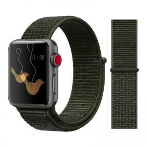 Apple Watch Bands - Sport Loop Colour 17 Cargo Khaki 38mm 40mm 42mm 44mm