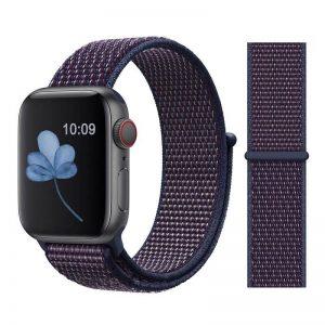 Apple Watch Bands - Sport Loop Colour 22 Indigo 38mm 40mm 42mm 44mm