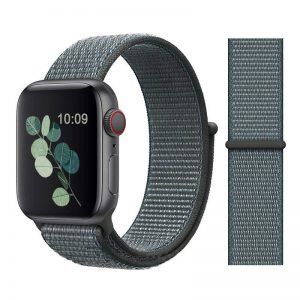 Apple Watch Bands - Sport Loop Colour 23 Storm Grey 38mm 40mm 42mm 44mm