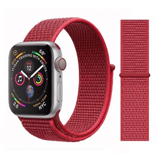 Apple Watch Bands - Sport Loop Colour 27 Red 38mm 40mm 42mm 44mm