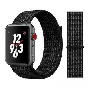 Apple Watch Bands - Sport Loop Colour 29 Black and White 38mm 40mm 42mm 44mm