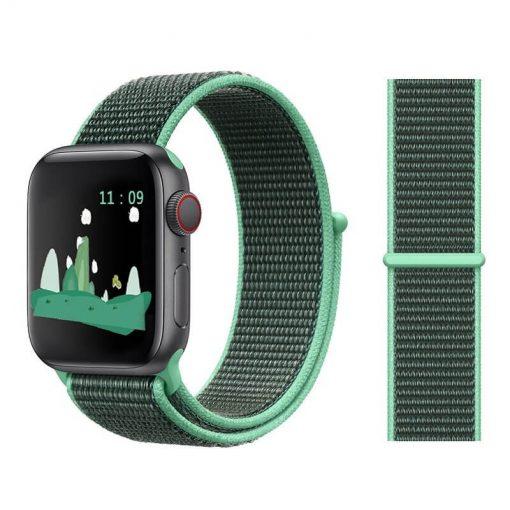 Apple Watch Bands - Sport Loop Colour 36 Spearmint 38mm 40mm 42mm 44mm