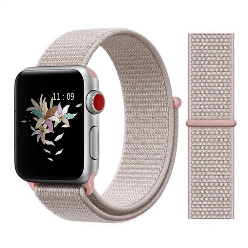 Apple Watch Bands - Sport Loop Colour 40 Rose Pink 38mm 40mm 42mm 44mm