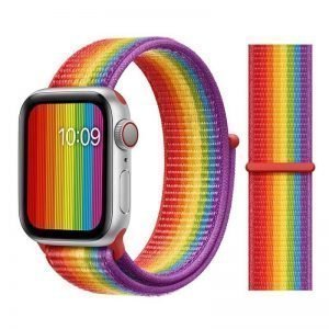 Apple Watch Bands - Sport Loop Colour 41 Pride 38mm 40mm 42mm 44mm