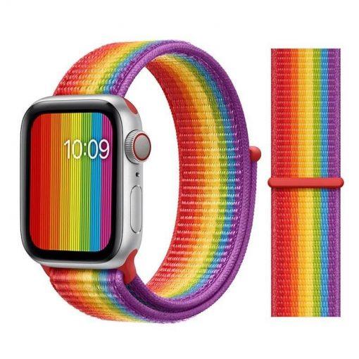 Apple Watch Bands - Sport Loop Colour 41 Pride 38mm 40mm 42mm 44mm