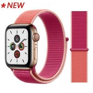 Apple Watch Bands - Sport Loop Colour 47 Pomegranate 38mm 40mm 42mm 44mm
