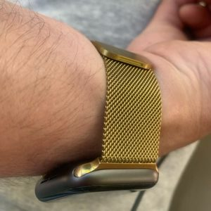 Apple Watch Bands - Milanese Loop Gold 38mm 40mm 42mm 44mm 1