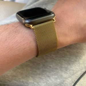 Apple Watch Bands - Milanese Loop Gold 38mm 40mm 42mm 44mm 2