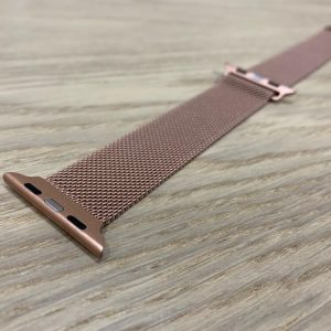 Apple Watch Bands - Milanese Loop Champagne Gold 38mm 40mm 42mm 44mm 1