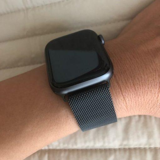 Apple Watch Bands - Milanese Loop Space Grey 38mm 40mm 42mm 44mm 8