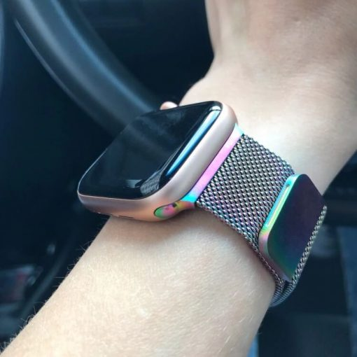 Apple Watch Bands - Milanese Loop Pearlescent 38mm 40mm 42mm 44mm 6