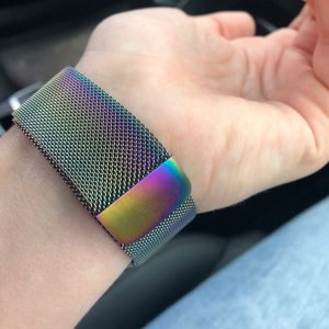 Apple Watch Bands - Milanese Loop Pearlescent 38mm 40mm 42mm 44mm 7