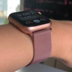 Apple Watch Bands - Milanese Loop Rose Pink 38mm 40mm 42mm 44mm 11