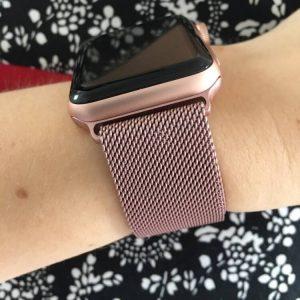 Apple Watch Bands - Milanese Loop Rose Pink 38mm 40mm 42mm 44mm 12