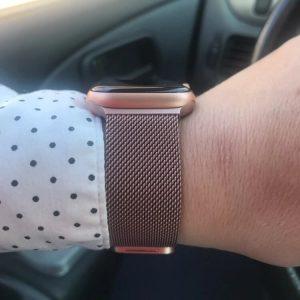 Apple Watch Bands - Milanese Loop Rose Pink 38mm 40mm 42mm 44mm 4