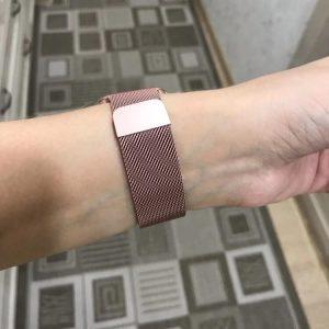 Apple Watch Bands - Milanese Loop Rose Pink 38mm 40mm 42mm 44mm 6