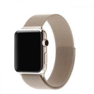 Apple Watch Bands - Milanese Loop Vintage Gold 38mm 40mm 42mm 44mm