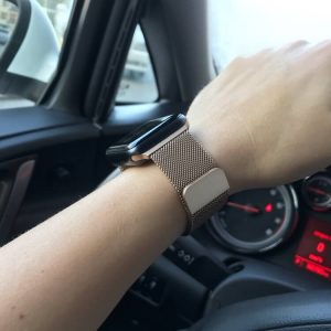 Apple Watch Bands - Milanese Loop Vintage Gold 38mm 40mm 42mm 44mm 10