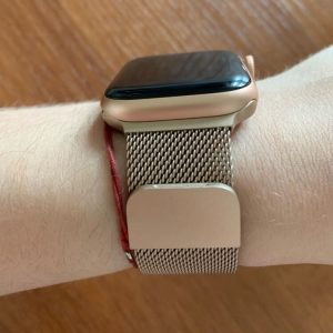 Apple Watch Bands - Milanese Loop Vintage Gold 38mm 40mm 42mm 44mm 3
