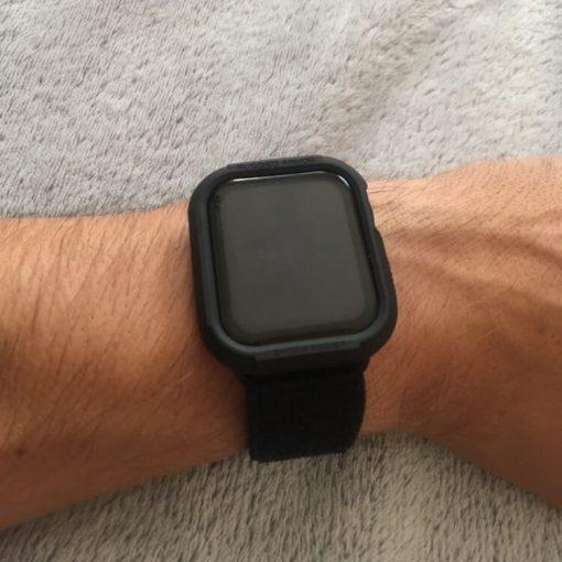Apple Watch Bands - Black Premium Nylon Sport Loop 42mm 44mm 5