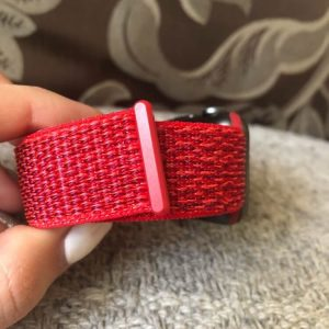 Apple Watch Bands - Red Premium Nylon Sport Loop 38mm 40mm 42mm 44mm 6