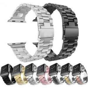 Apple Watch Bands - Stainless Steel Band Range Series 1 2 3 4 5 38mm 40mm 42mm 44mm