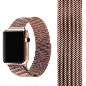 Apple Watch Bands - Milanese Loop with strap for Apple Watch Champagne Gold Series 1 2 3 4 5 38mm 40mm 42mm 44mm