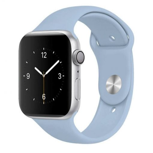 Apple Watch Bands - Bright and Soft Silicone Sports Apple Watch Band Lilac Series 38mm 40mm 42mm 44mm