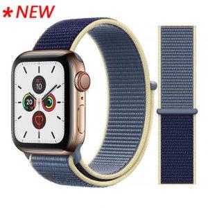 Apple Watch Bands - Sport Loop Colour 48 Alaskan Blue 38mm 40mm 42mm 44mm