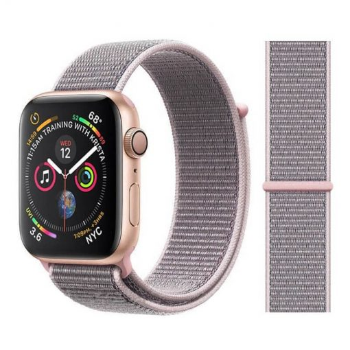 Pink Sand Sport Loop Apple Watch Band