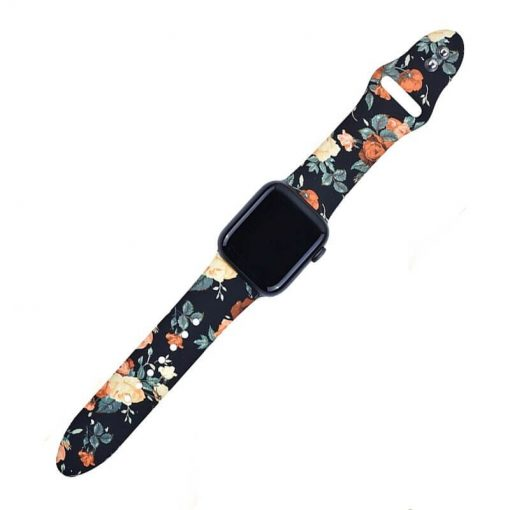 Apple Watch Bands Printed Soft Silicone Series 1 2 3 4 5 38mm 40mm 42mm 44mm