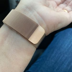 Apple Watch Bands Milanese Loop Retro Gold Series 1 2 3 4 5 38mm 40mm 42mm 44mm