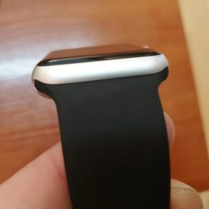 Bright Sports Apple Watch Band Black