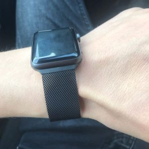 Apple Watch Bands Milanese Loop Space Black Series 1 2 3 4 5 38mm 40mm 42mm 44mm